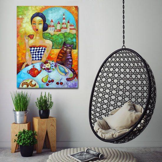 kolorowe nowoczesne obrazy