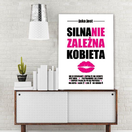 plakaty z literami