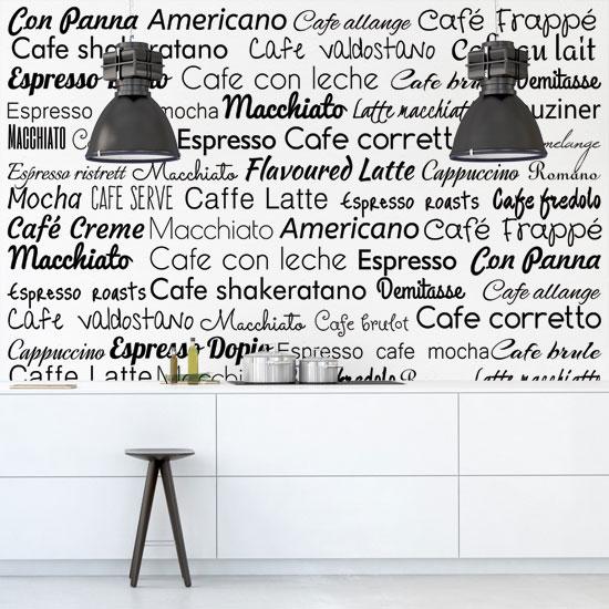 fototapety z typografią