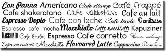 okleina z kawą