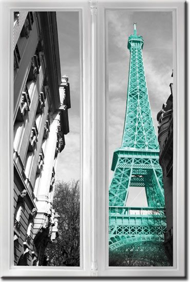 obrazy z Paryżem