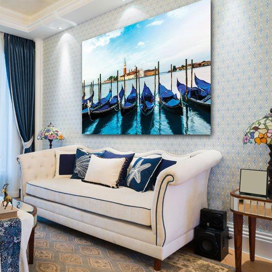 dekoracje z łódkami