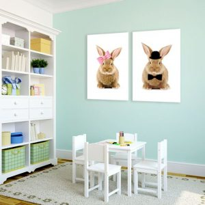 ozdoby z królikami