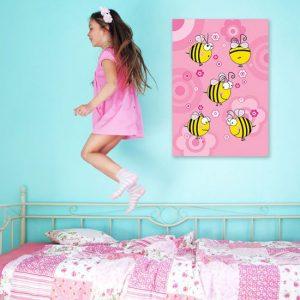 obrazy z pszczołkami