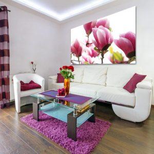 dekoracje zmagnoliami