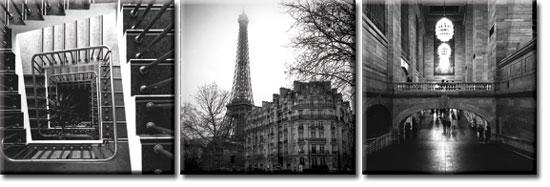 obrazy z miastami