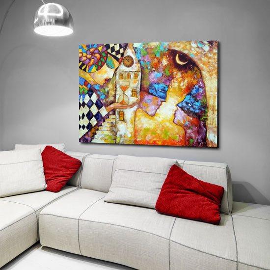 dekoracje z reprodukcjami malarstwa