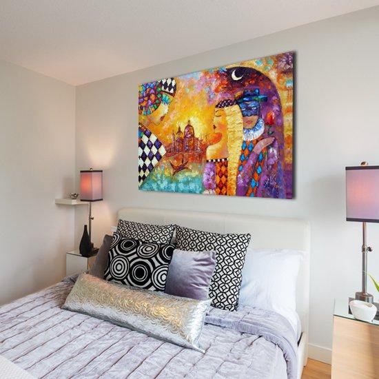 kolorowe plakaty z malarstwem
