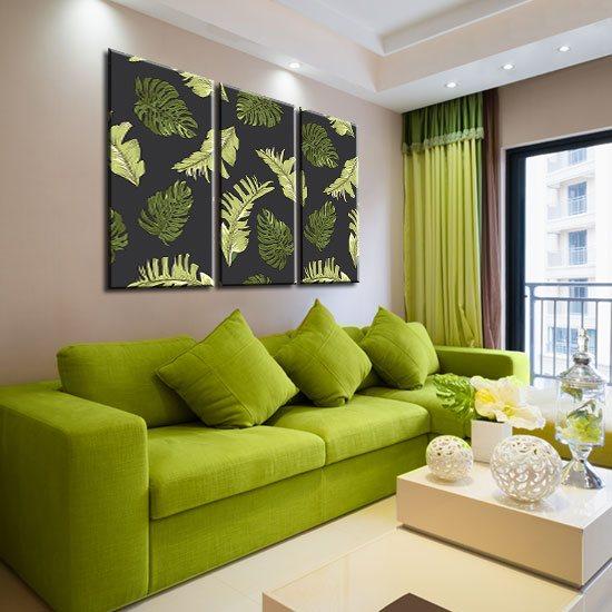 dekoracje zielone