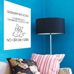 nowoczesne napisy na ściany
