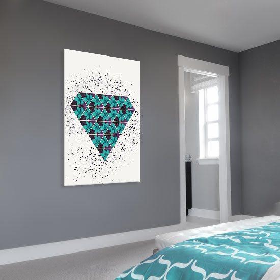 dekoracja turkusowa