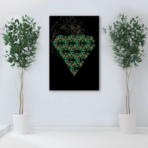 obraz z roślinami