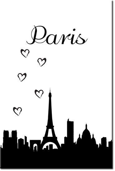 obrazy Paryż