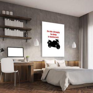 plakaty o motorach