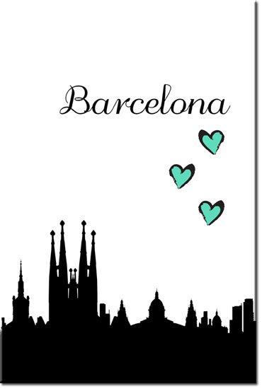 obrazy barcelona