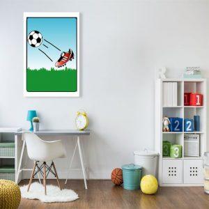 ozdoby z futbolem
