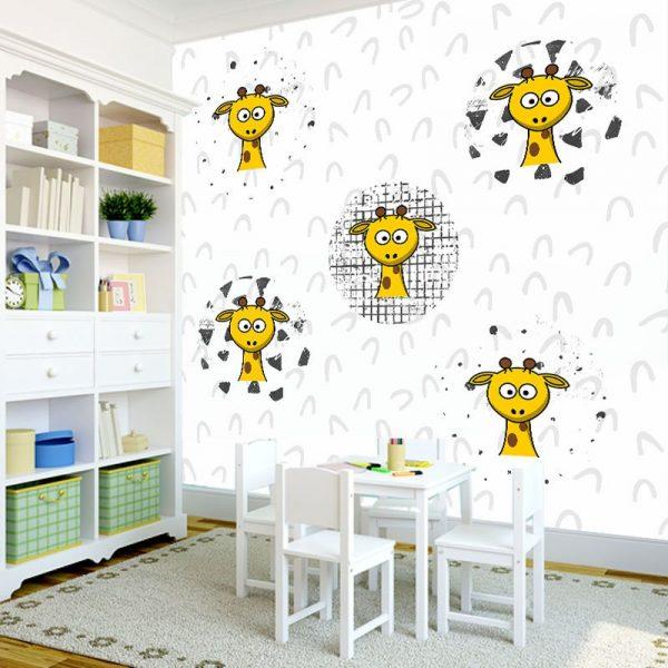 dekoracje z żyrafą