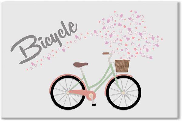 obrazy z rowerem