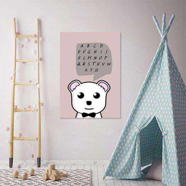 dekoracje z alfabetem
