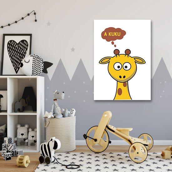 ozdoby z żyrafą