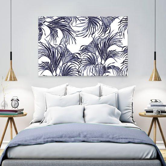 obrazy liście palmowe