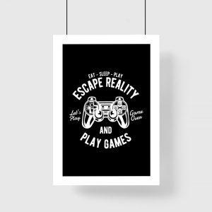 plakat dla gracza