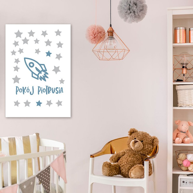 Plakat Pokój Piotrusia