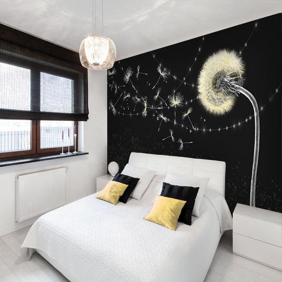 ozdoba ścian do sypialni