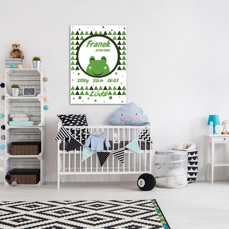 plakaty z datą urodzenia