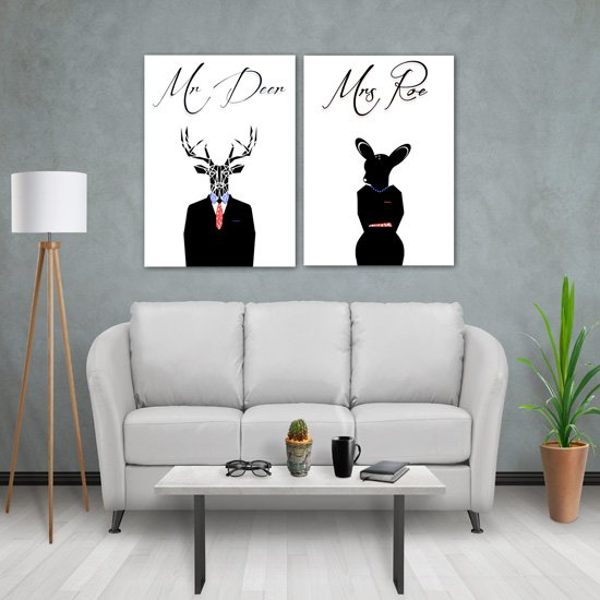 plakaty dla niej i niego