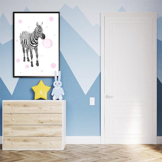 plakaty z zebrami