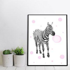 dekoracje z zebrami