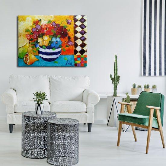 kolorowe obrazy do pokoju