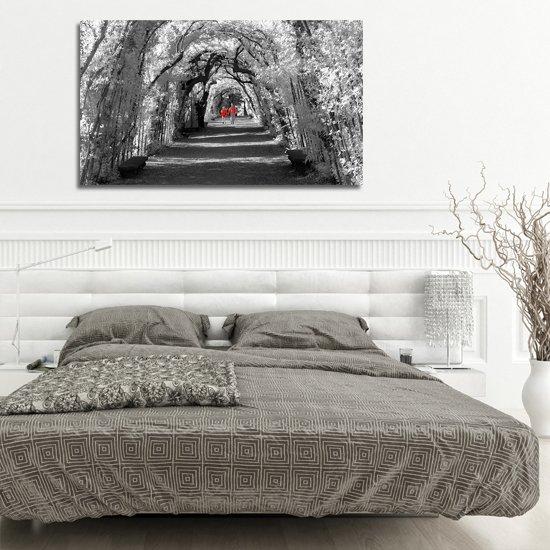 obraz do sypialni z aleją