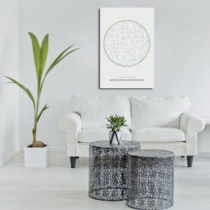 Obraz z gwiazdozbiorem na ścianę