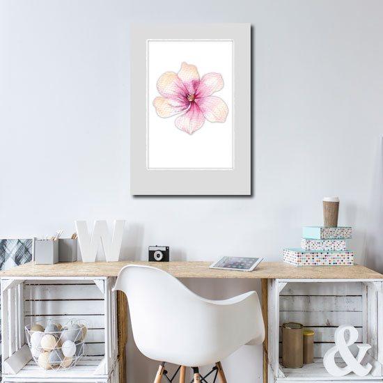 plakat w ramie - magnolia