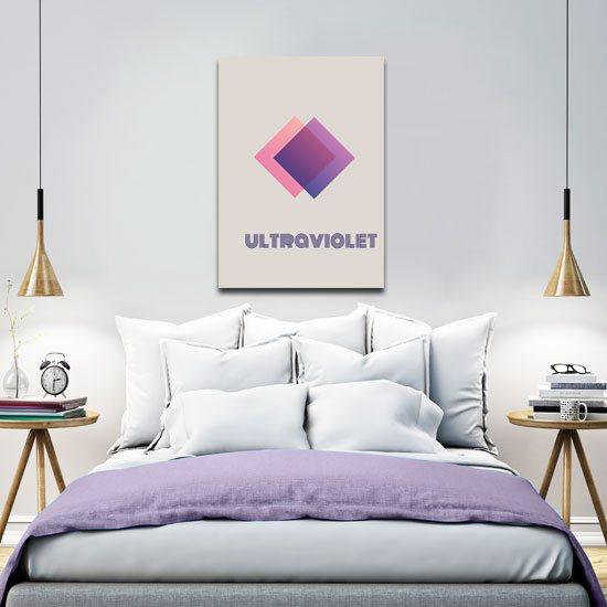plakat ultrafioletowy