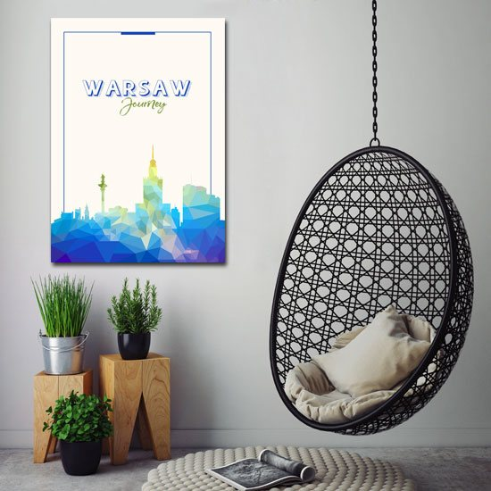 nowoczesny plakat do biura