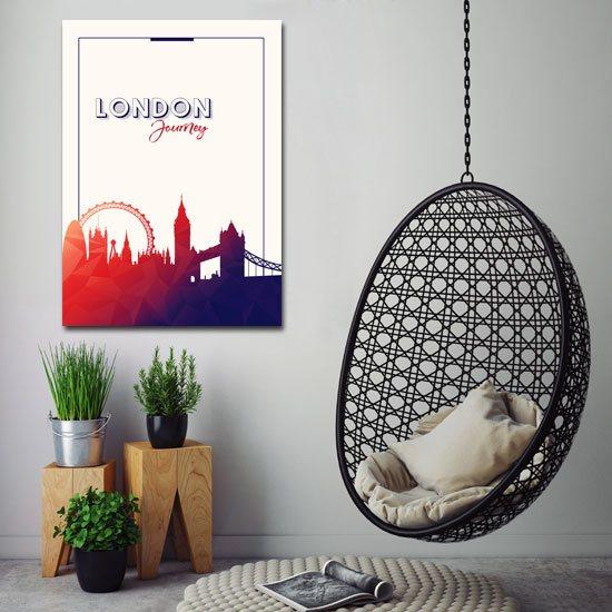 nowoczesna dekoracja na ścianę