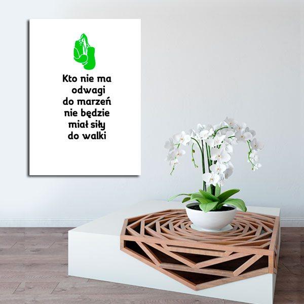 plakaty z tekstami