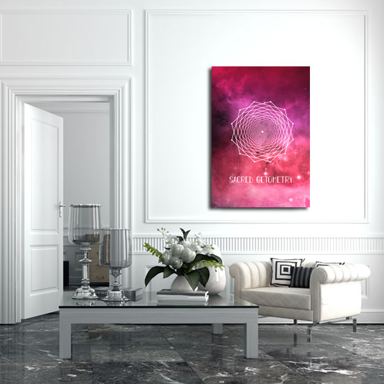 plakaty różowe