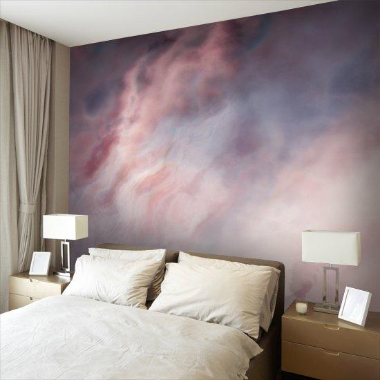 fototapeta z fioletową abstrakcją