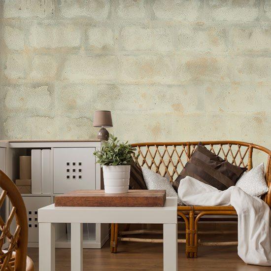 tapeta surowa ściana