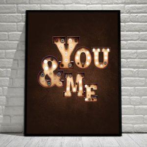 plakat dla par