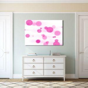 Obraz różowe wzory