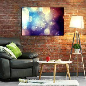 Obraz kolorowe bańki