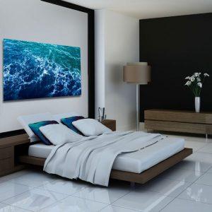 Obraz fale oceanu