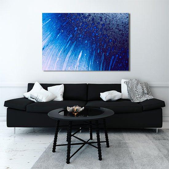 Obraz abstrakcyjny deszcz