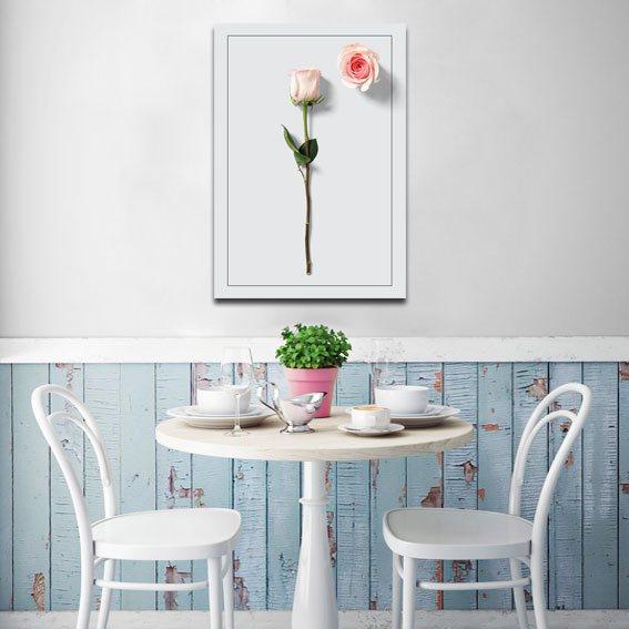 Plakat różą