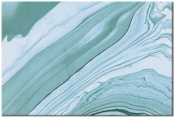 Obraz niebieska abstrakcja